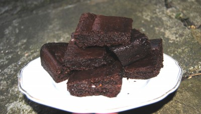 Raw or Baked vegan chocolate Brownie